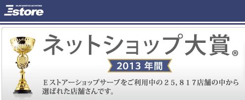 Eストア ネットショップ大賞2013