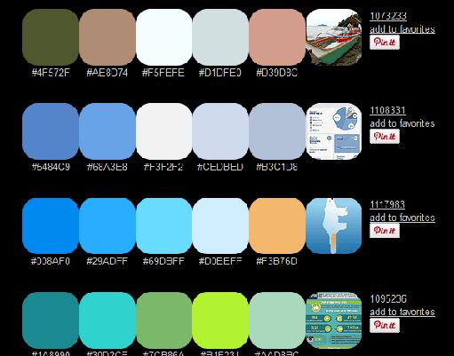 Color Hunterのサイトイメージ