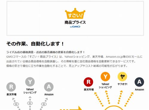すごい!商品プライスのサイトイメージ