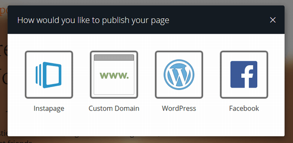 InstaPageのサイトイメージ