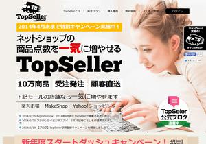 ドロップシッピング対応 トップセラーのサイトイメージ